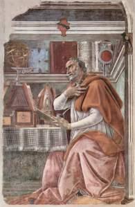 San Agustín, Sandro_Botticelli